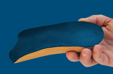 cork made insoles
