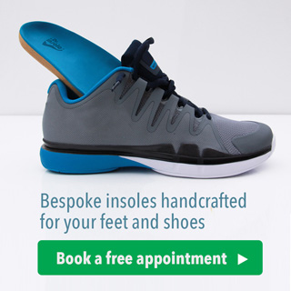custom insole tailored to fit your feet