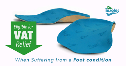 Custom orthotics eligible for VAT relief